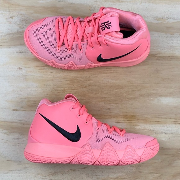 37ccd92b3fea64 Nike Kyrie 4 GS LT Atomic Pink Basketball Shoes